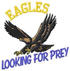 Eagles Prey embroidery design