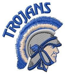 Trojans embroidery design