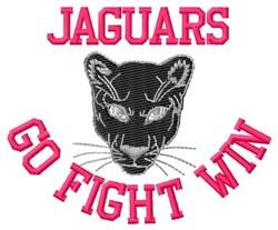 Jaguars Go Fight Win embroidery design