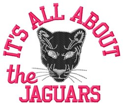 All About The Jaguars embroidery design