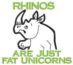 Fat Unicorns embroidery design
