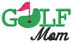 Golf Mom embroidery design