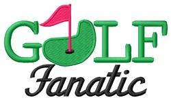 Golf Fanatic embroidery design