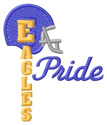 Eagles Pride embroidery design