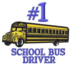 #1 Driver embroidery design