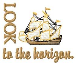 Horizon Ship embroidery design