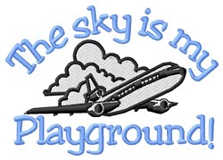 Playground Sky embroidery design