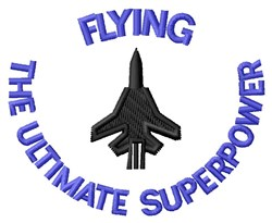 Ultimate Superpower embroidery design