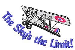 Sky Limit embroidery design