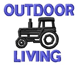Outdoor Living embroidery design