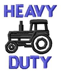Heavy Duty embroidery design