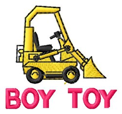 Boy Toy embroidery design