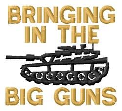 Big Guns embroidery design