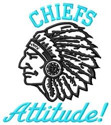 Chiefs Attitude embroidery design