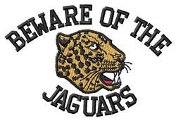 Beware Of Jaguars embroidery design