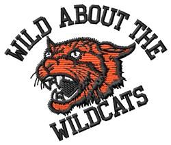 Wild Wildcats embroidery design