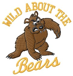 Wild Bears embroidery design