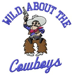 Wild About Cowboys embroidery design