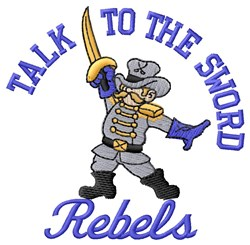 Rebels Sword embroidery design