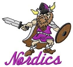 Nordics embroidery design