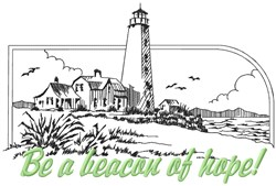 Beacon Of Hope embroidery design