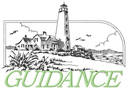 Guidance embroidery design