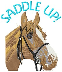 Saddle Up embroidery design