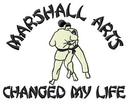 Changed Life embroidery design