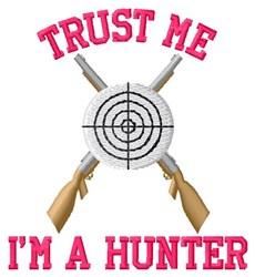 Im A Hunter embroidery design