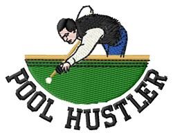 Pool Hustler embroidery design