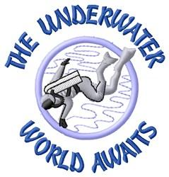 Underwater World embroidery design