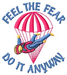 Do It Anyway embroidery design