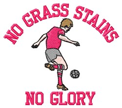 No Glory embroidery design