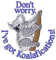 Koalafications embroidery design