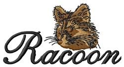 Raccoon Head embroidery design