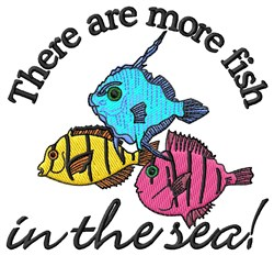 Fish In The Sea embroidery design