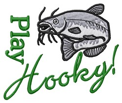 Play Hooky Catfish embroidery design