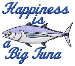 Big Tuna embroidery design
