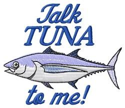 Talk Tuna To Me embroidery design
