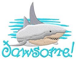 Jawsome embroidery design
