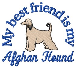 Afghan Friend embroidery design