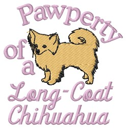 Long-Coat Pawperty embroidery design