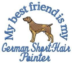German Short-Hair Friend embroidery design