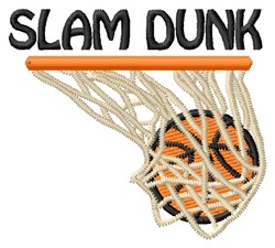 Slam Dunk embroidery design