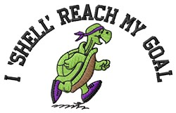 Shell Reach embroidery design