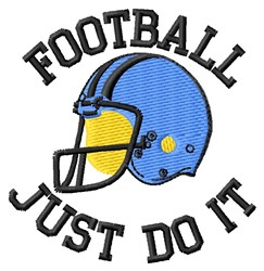 Just Do It embroidery design