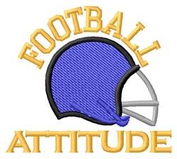 Attitude embroidery design