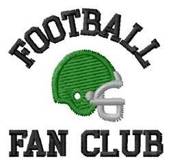 Fan Club embroidery design