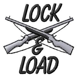 Lock & Load embroidery design