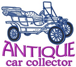 Antique Collector embroidery design